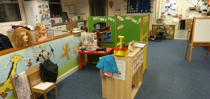 Our play and learning area
